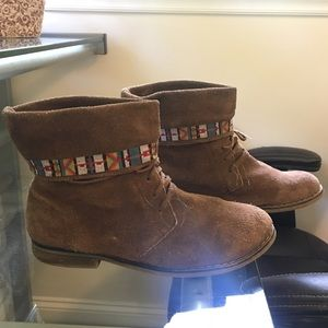 Suede/Leatheer Boots
